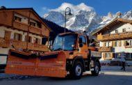Nuovo Unimog U 218 4x4 per il Comune di Val di Zoldo