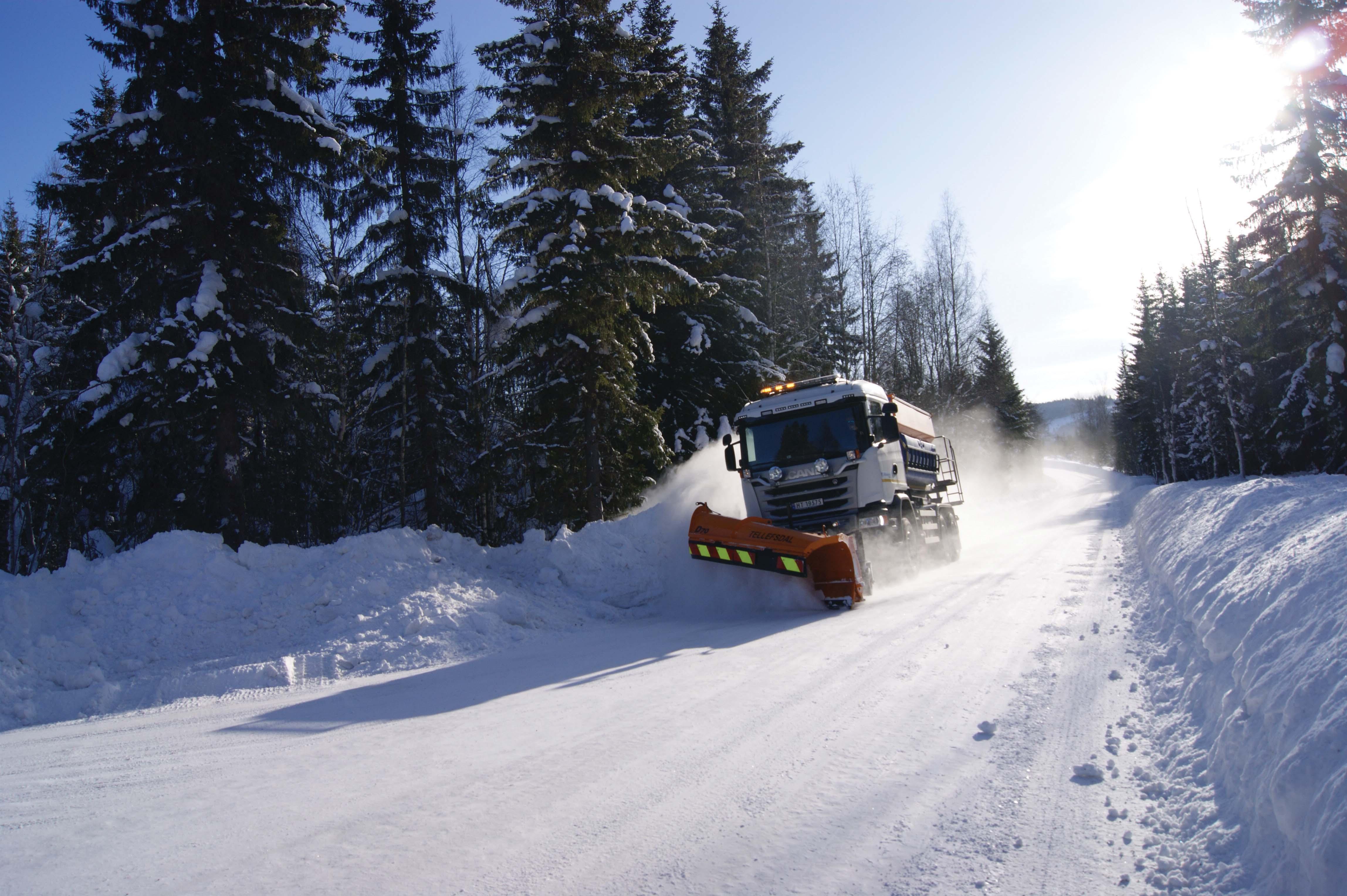 Piste perfettamente innevate, strade perfettamente sgombre. Lillehammer sceglie le trasmissioni Allison