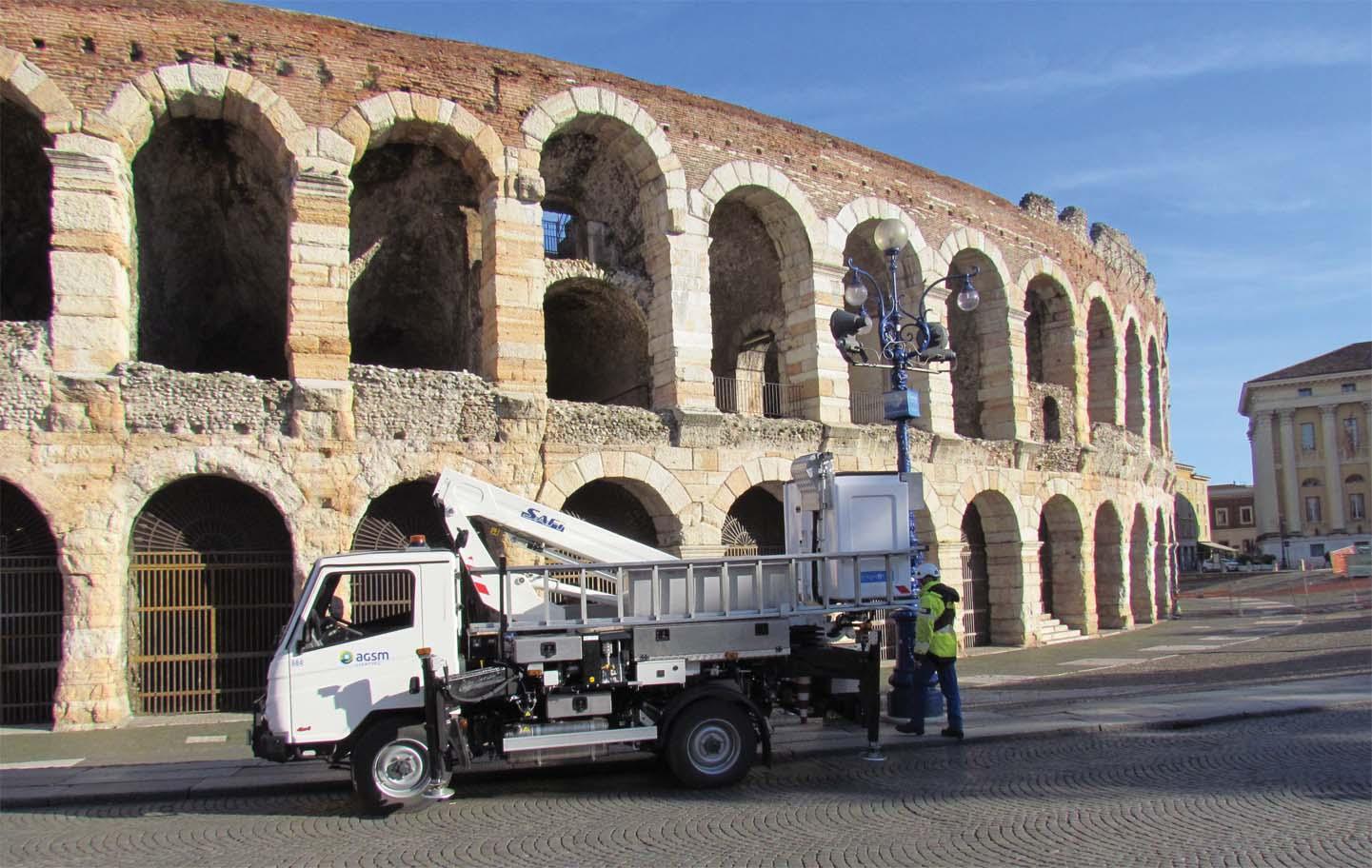 Lighting #4x4 Bonetti per la Città di Verona