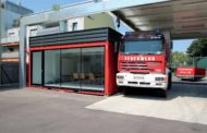 Containex realizza  a Vienna un'aula esemplare per l'addestramento dei Vigili del Fuoco